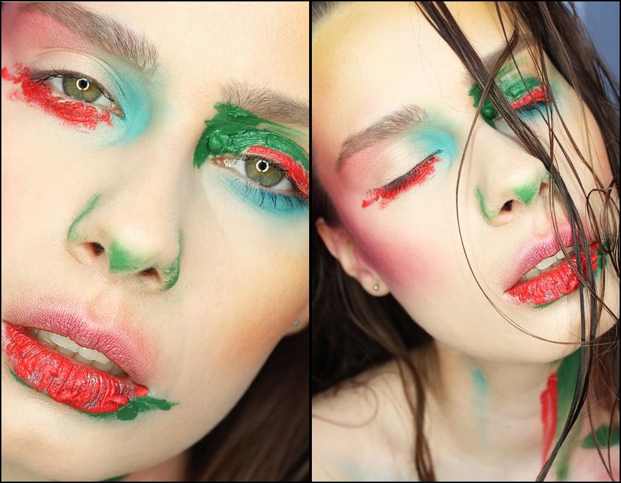 makijaż artystyczny