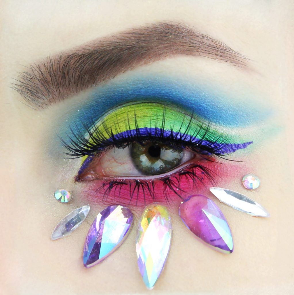 Picture Perfect Challenge #pictureperfectchallenge Instagram trend cut crease makeup
