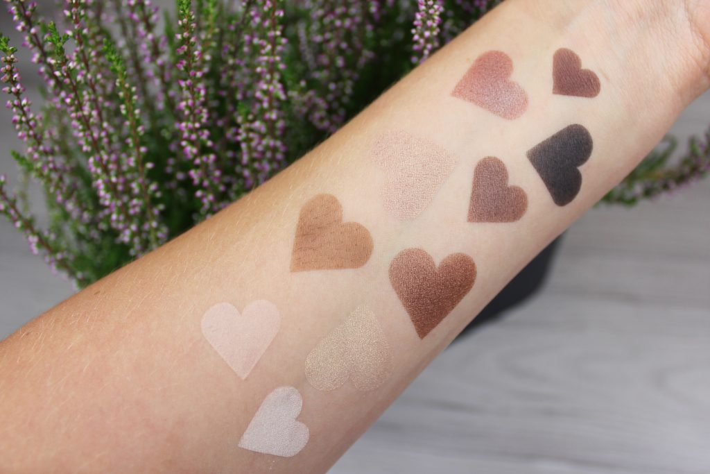 Zoeva Naturally Yours palette paleta cieni recenzja review