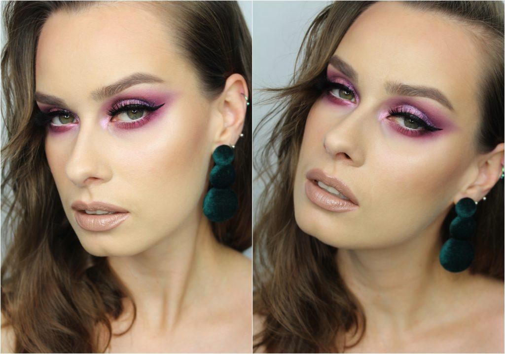 AMETHYST OBSESSIONS Huda Beauty Makijaż wieczorowy