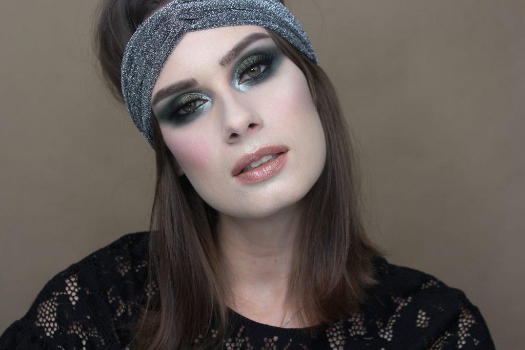 sylwester inspiracja lata 20 makijaż sylwestrowy