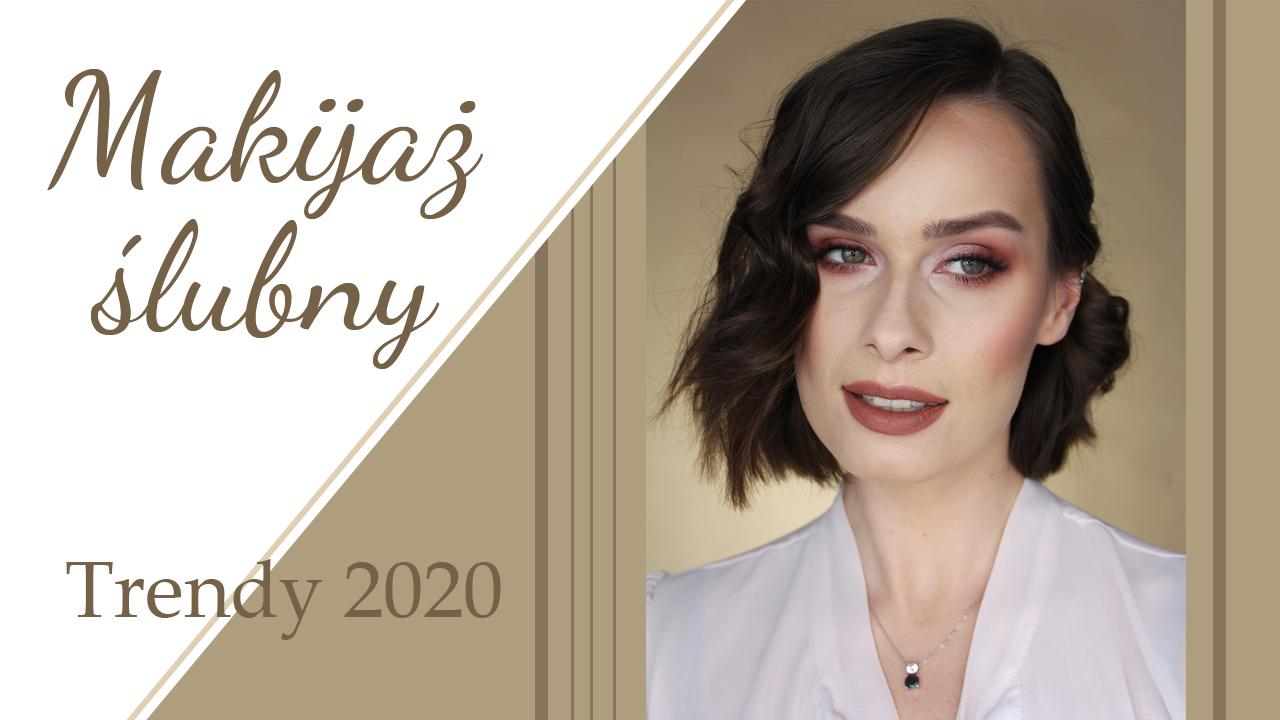 Klasyczny makijaż ślubny ❤️ Trendy ślubne 2020