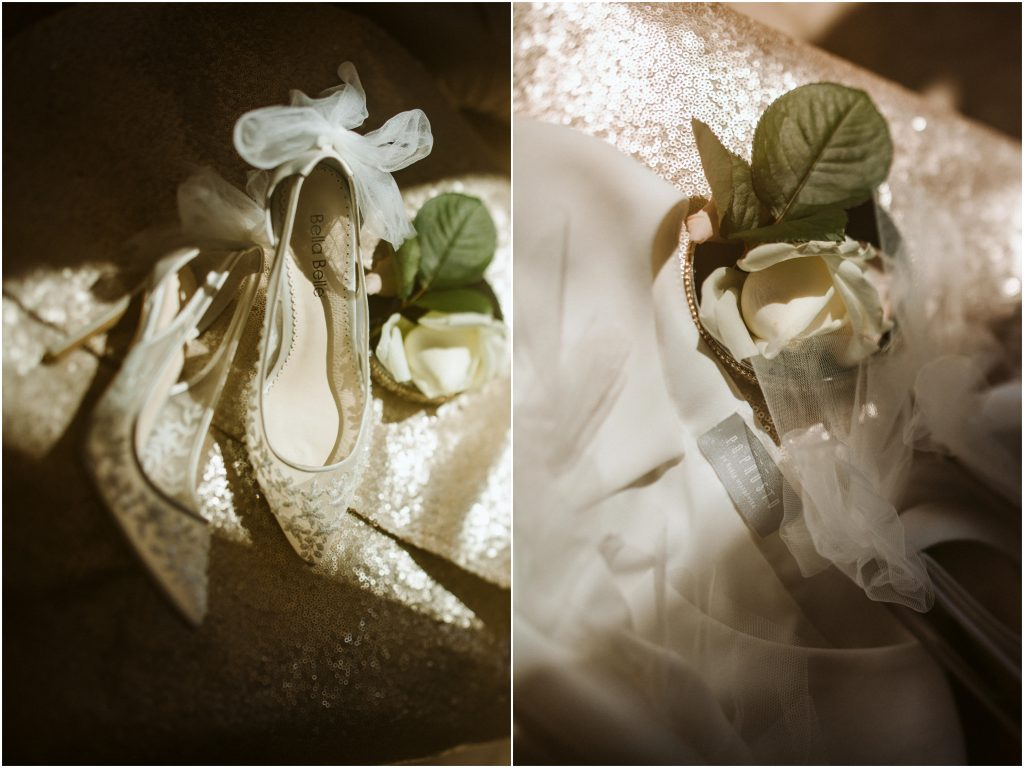 Kolor wiodący styl wesela
