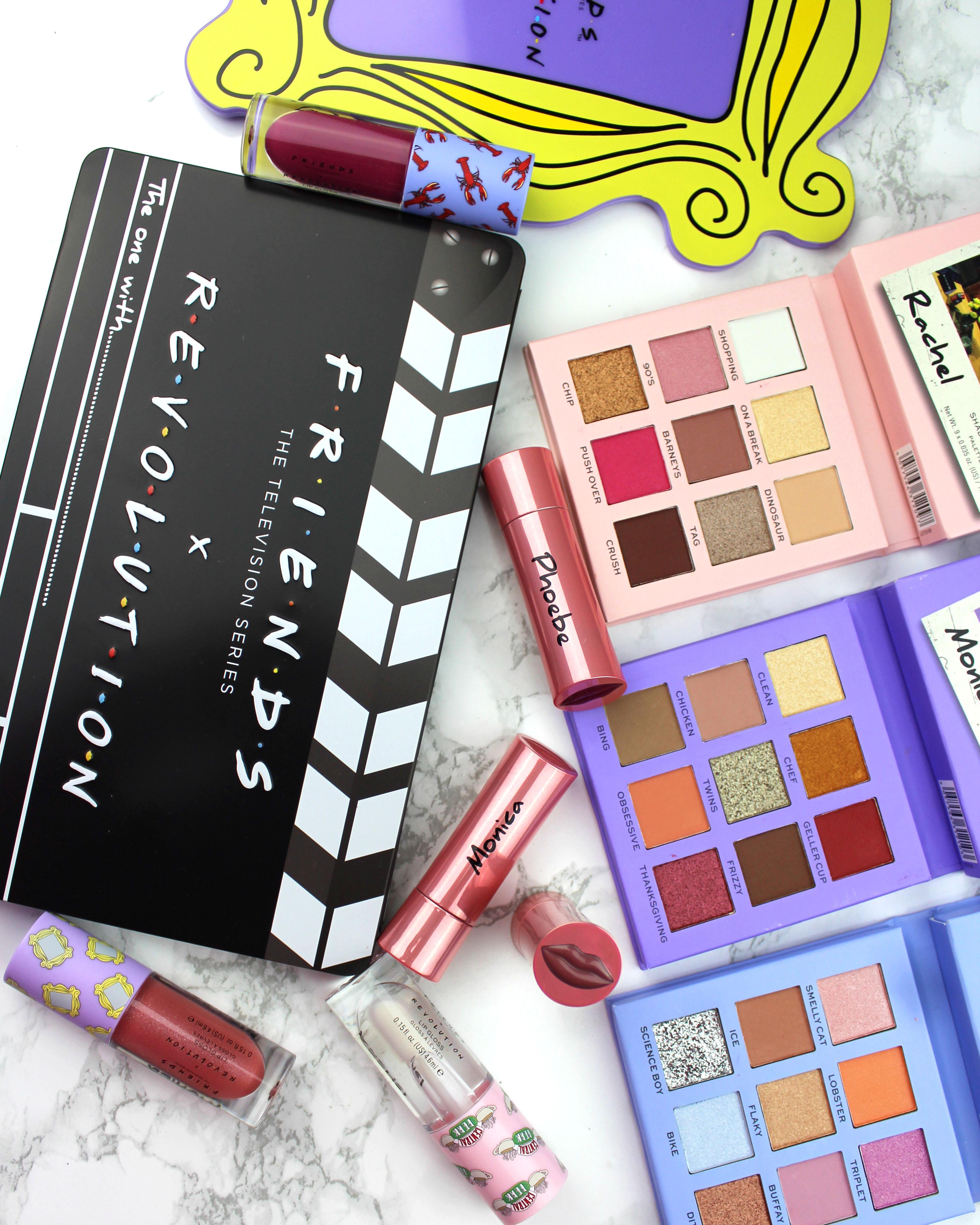 Makeup Revolution x Friends – recenzja kolekcji