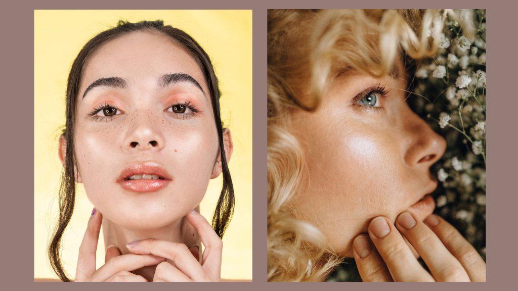 makijaż ślubny dewy skin