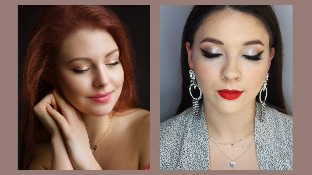 makijaż ślubny kreski eyeliner