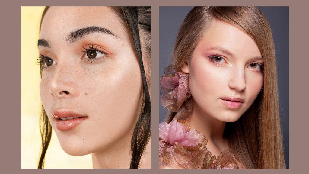makijaż ślubny pastelowy makijaż